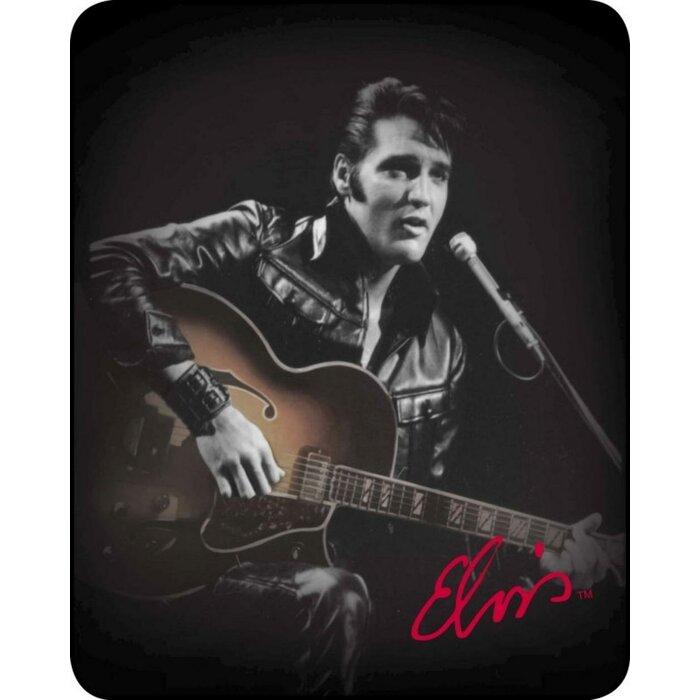 Dirk Ultra Plush Jacket Elvis Faux Fur Blanket