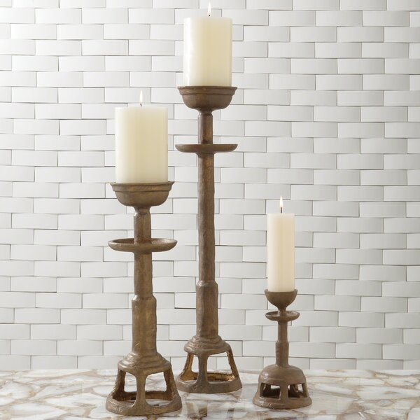 Temple Iron Candlestick by Studio A Home