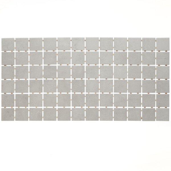 Fairfield 12 x 24 Ceramic Mosaic Tile in Dove Grey by Itona Tile