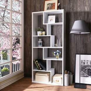Benson Wooden Rectangular Cube Unit Bookcase by Brayden Studio