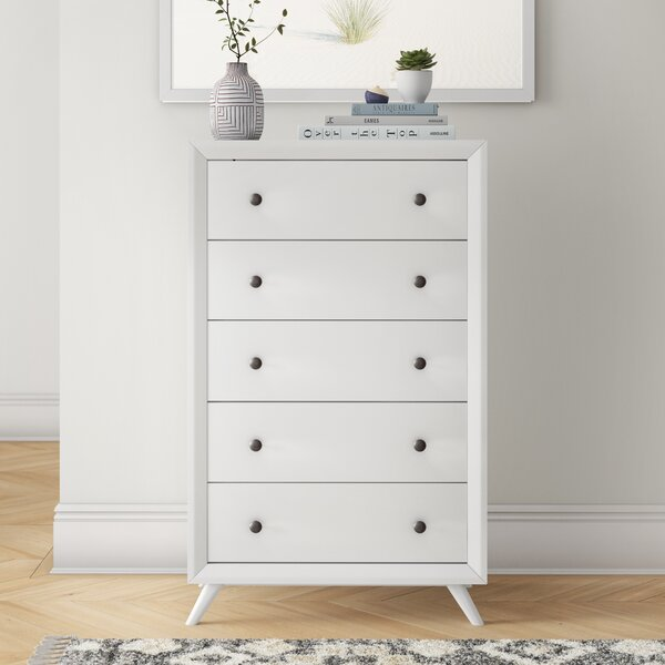 Arabella 5 Drawer Chest by Foundstone
