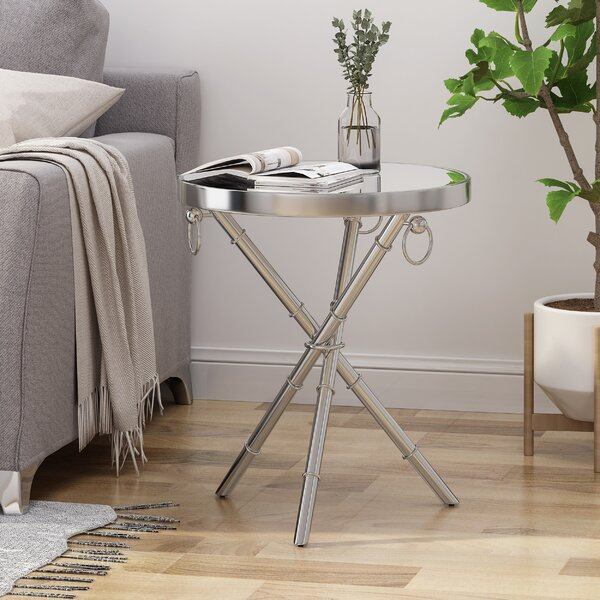 Arrow End Table by Ivy Bronx