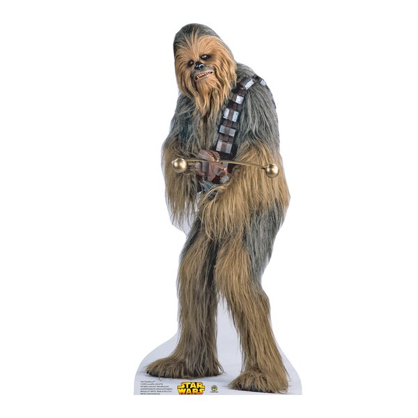 Star Wars Chewbacca Life Size Cardboard Stand Up by Advanced Graphics