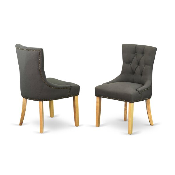 Dancer Upholstered Dining Chair (Set of 2) by Charlton Home