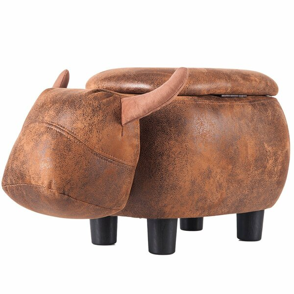 Traxler Buffalo Storage Ottoman By Union Rustic Spacial Price