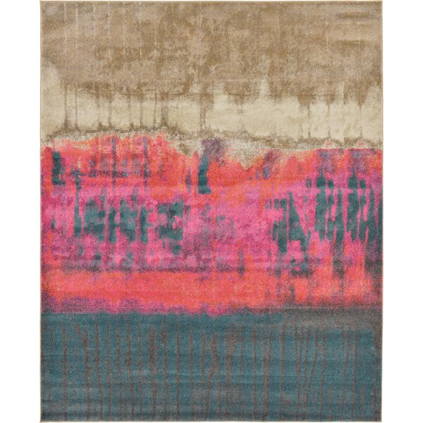Coakley Traditional Pink Area Rug by Mercury Row