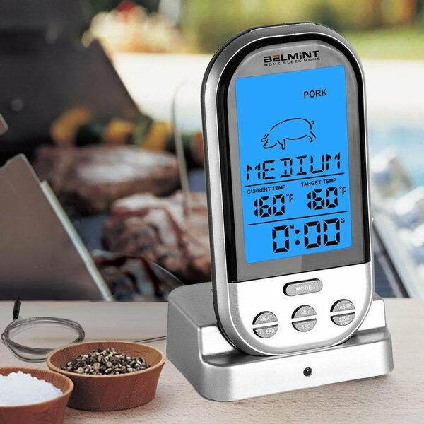 Wireless BBQ Digital Meat Thermometer  by Belmint