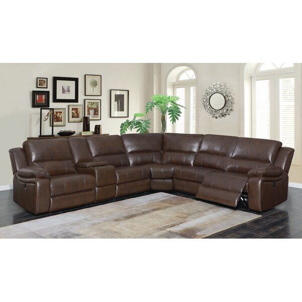 Kansas Reclining Sectional by Loon Peak