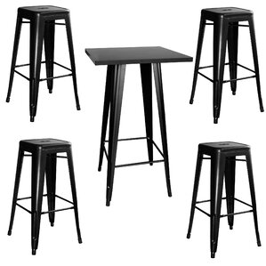 Racheal Loft 5 Piece Pub Table Set by Trent Austin Design