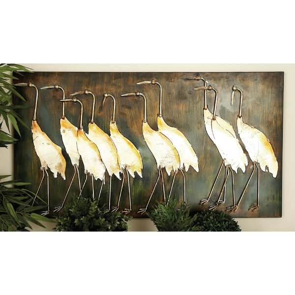 Coastal Standing Herons Wall Decor by Bay Isle Home