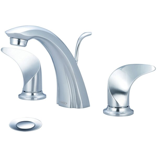 Cabrillo Widespread Faucet With Drain Assembly By Pioneer
