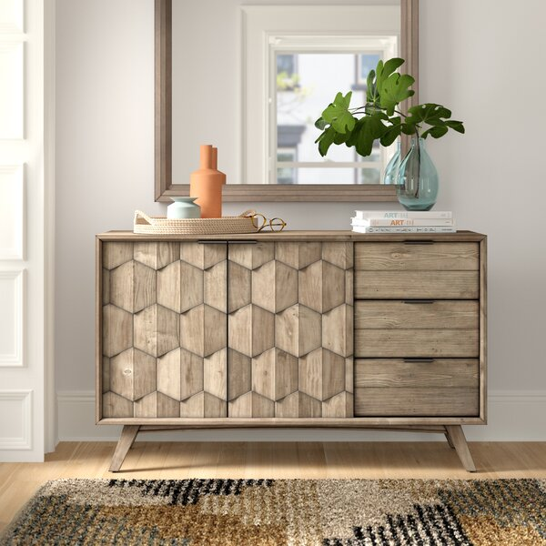 Lola 3 Drawer Combo Dresser by Foundstone
