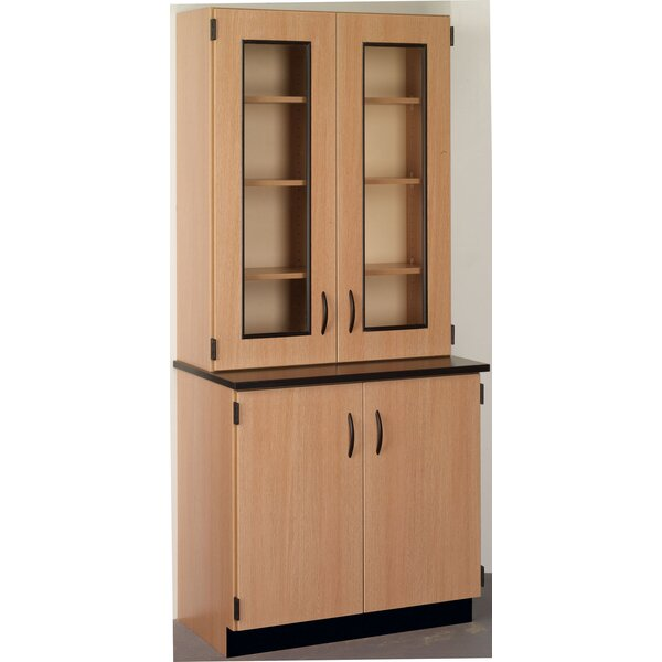 Science 4 Door Storage Accent Cabinet by Stevens ID Systems