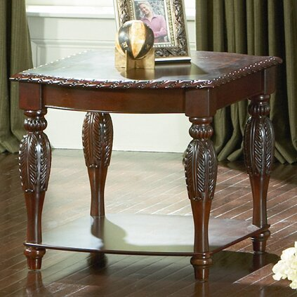 Hassler End Table by Astoria Grand Astoria Grand
