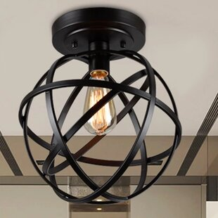 1-Light Globe Pendant By Warehouse of Tiffany Ceiling Lights