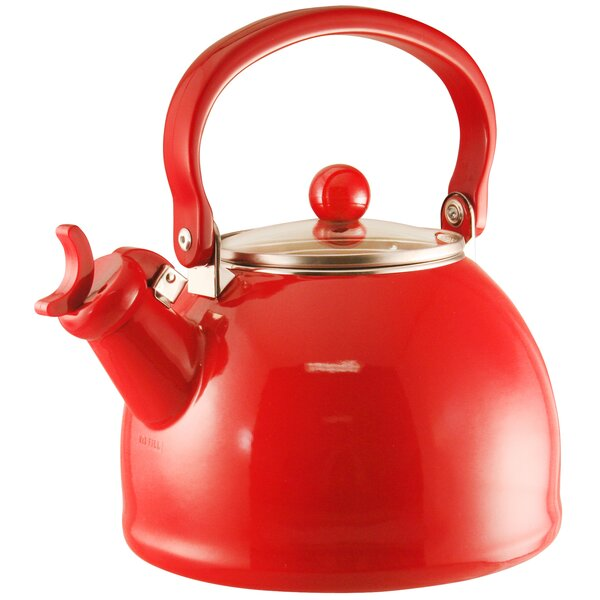 Ingatestone 2.2 Qt. Whistling Stainless Steel Tea Kettle by Alcott Hill