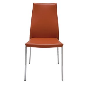 Eric Genuine Leather Upholstered Dining Chair by Nuevo