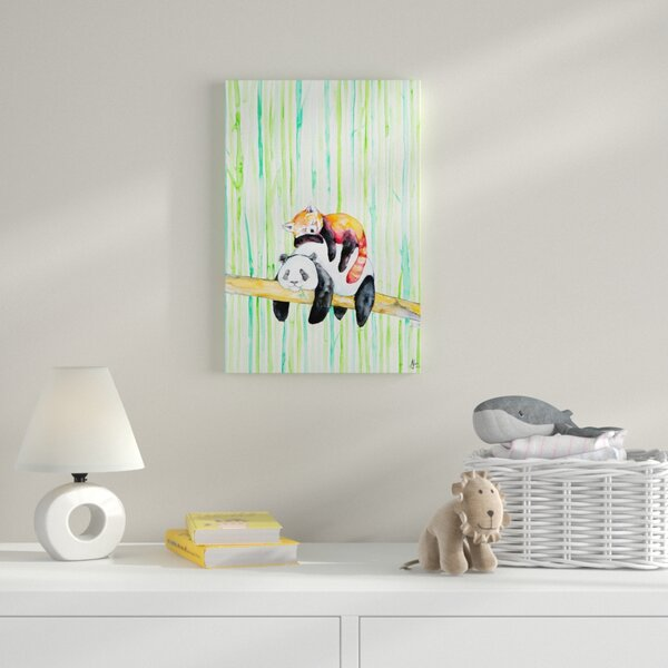 Lullaby Painting Print on Wrapped Canvas by Zoomie Kids