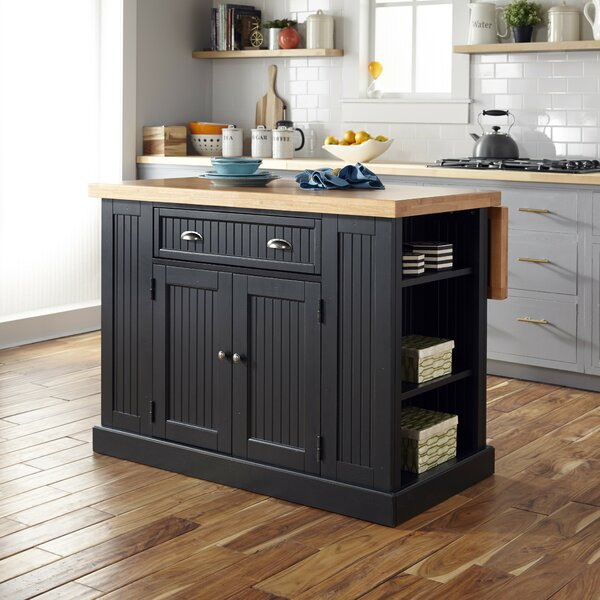 Rabin Kitchen Island by Beachcrest Home