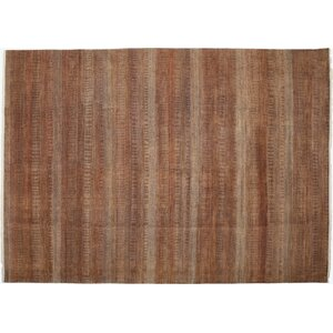 Savannah Hand-Knotted Red Area Rug