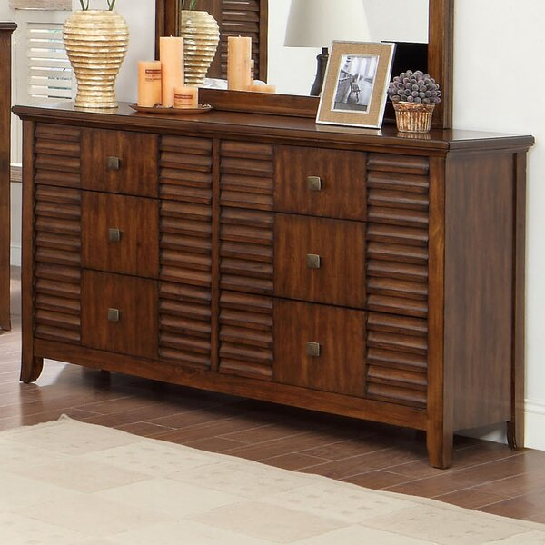 Tora 6 Drawer Double Dresser by Hokku Designs