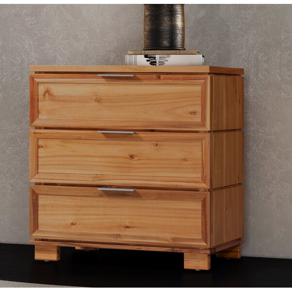 Ballenger 3 Drawer Bachelors Chest by Foundry Select