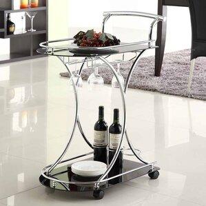Baumbach Bar Cart by Ebern Designs