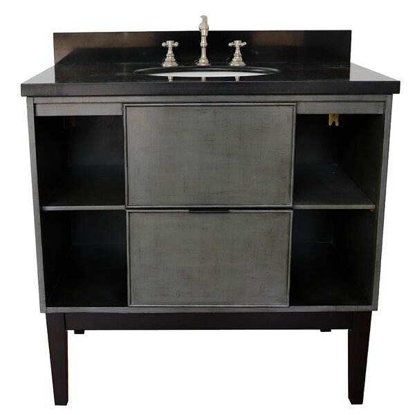 Asher 37 Single Bathroom Vanity by Bloomsbury Market