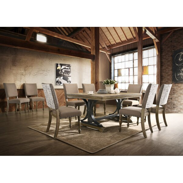 #1 Alfano 9 Piece Extendable Dining Set By One Allium Way No Copoun