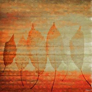 'Leafs 2' by Parvez Taj Painting Print on Wrapped Canvas by Parvez Taj