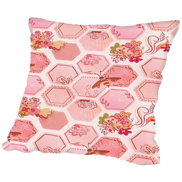 Onefeinday Honeycomb Throw Pillow by East Urban Home