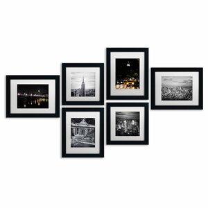 Urban Framed 6 Piece Photo Graphic Print Set on Paper by Trademark Fine Art