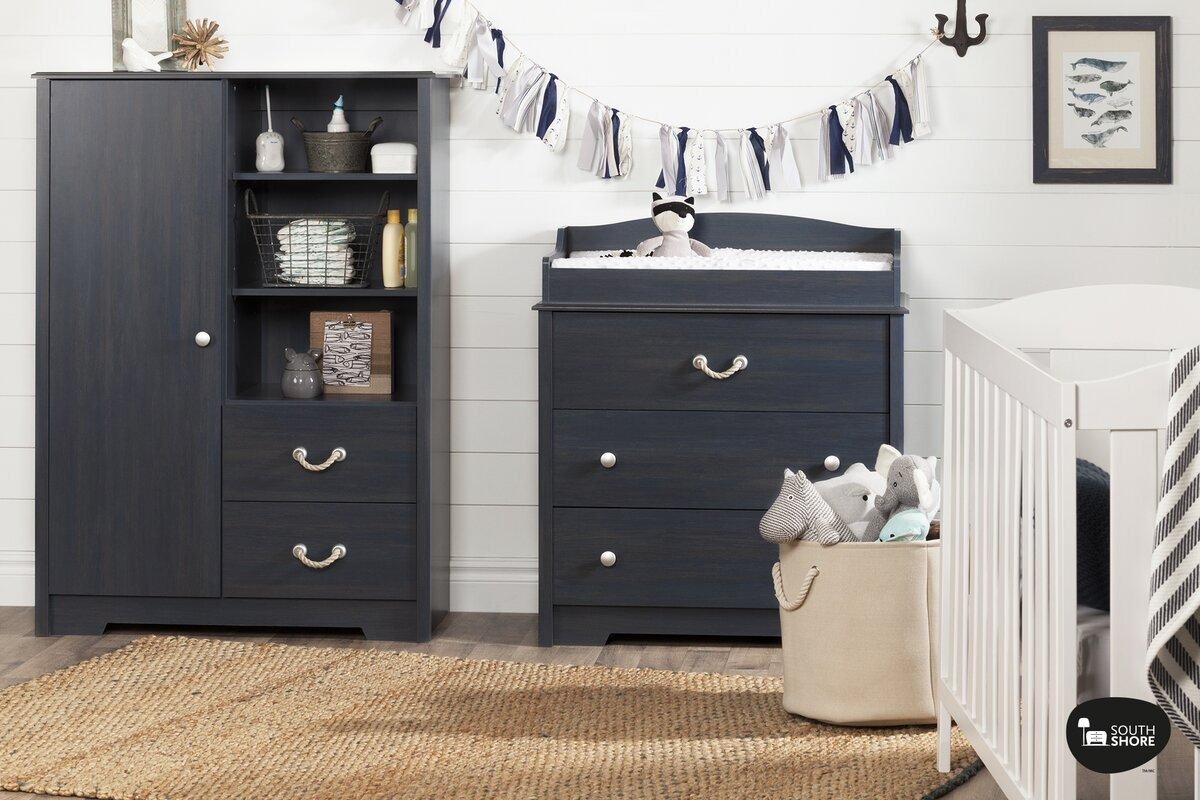 south shore aviron changing table reviews wayfair 10420 | aviron changing table