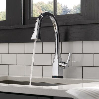 Kitchen Faucet Single Handle Docking Toucho Chrome photo