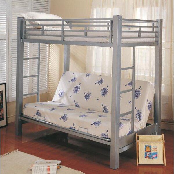 Sibert Futon Twin Bunk Bed by Harriet Bee
