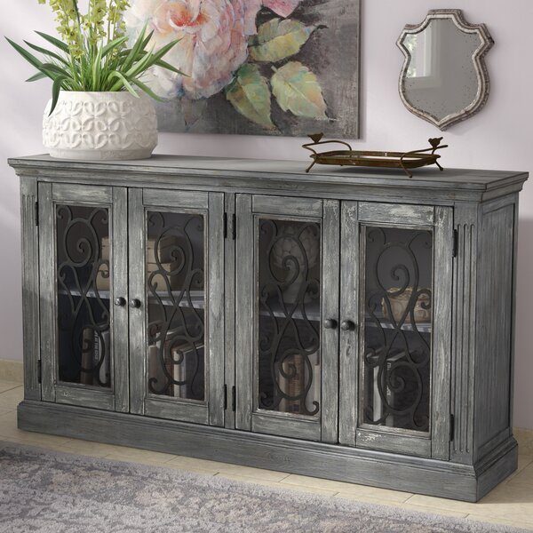 Colombier 4 Door Accent Cabinet by Lark Manor