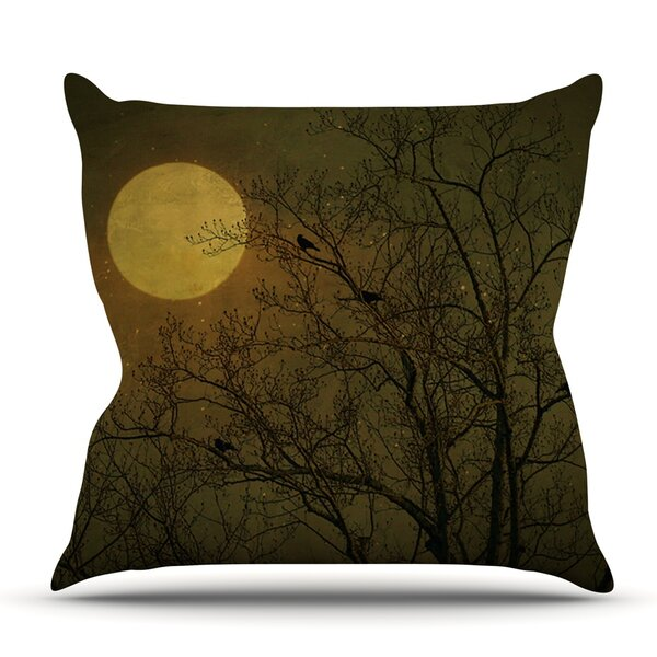 Starry Night by Robin Dickinson Outdoor Throw Pillow by East Urban Home