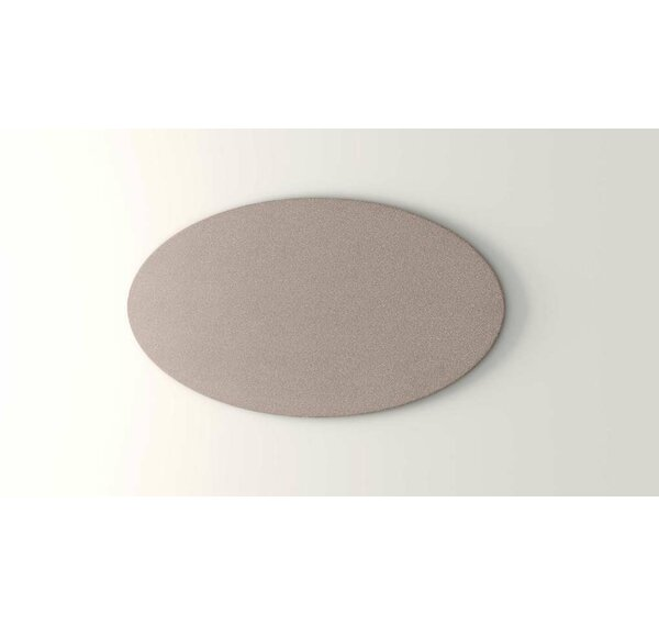 Oval Wall Mounted Bulletin Board by OBEX