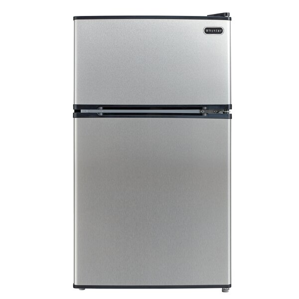 3.4 cu. ft. Compact Refrigerator with Freezer by Whynter