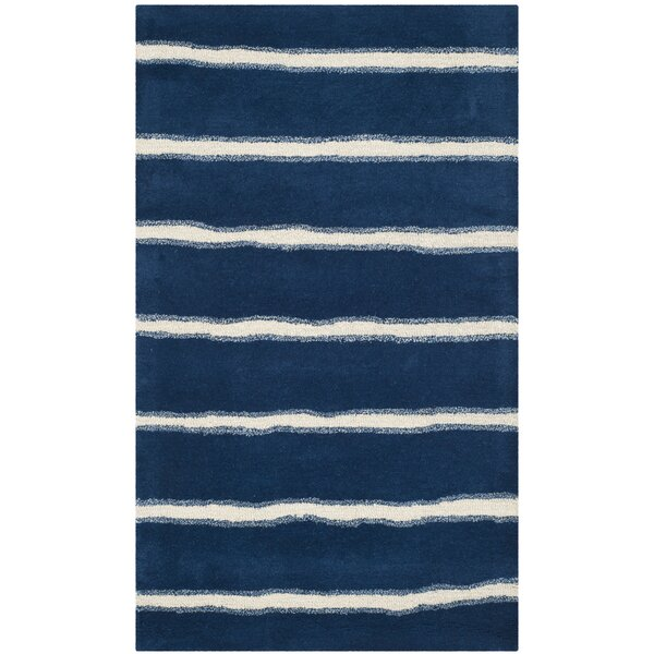 Martha Stewart Wrought Iron Navy Area Rug by Martha Stewart Rugs