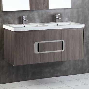 48 Double Sink Bathroom Vanity Set by Bellaterra Home