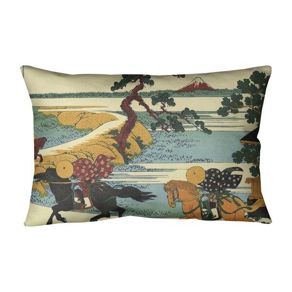 Sekiya at Sumida River Indoor/Outdoor Lumbar Pillow