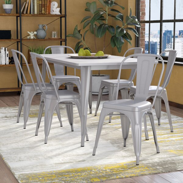 Kingwai 7 Piece Dining Set by 17 Stories