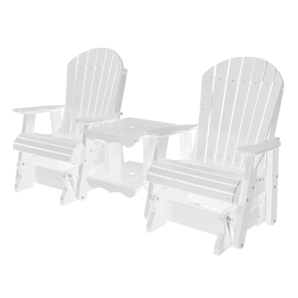 Patricia Plastic Adirondack Chair by Rosecliff Heights