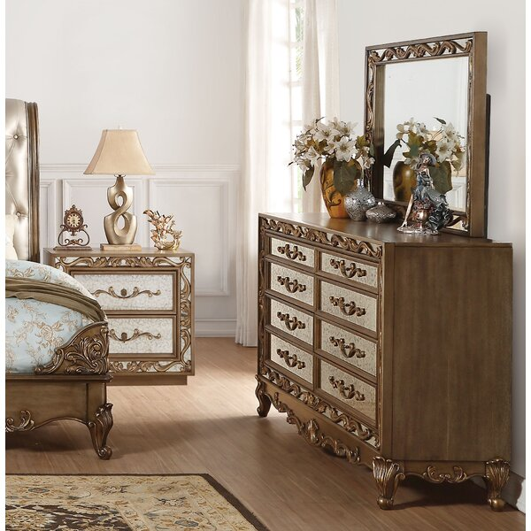 Linzy 8 Drawer Double Dresser by Rosdorf Park