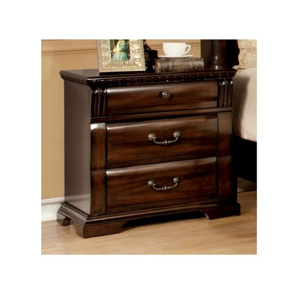 Richerson 3 Drawer Nightstand by Astoria Grand