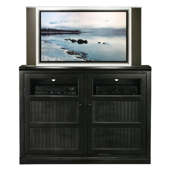 Didier Traditional Birchwood TV Stand by World Menagerie