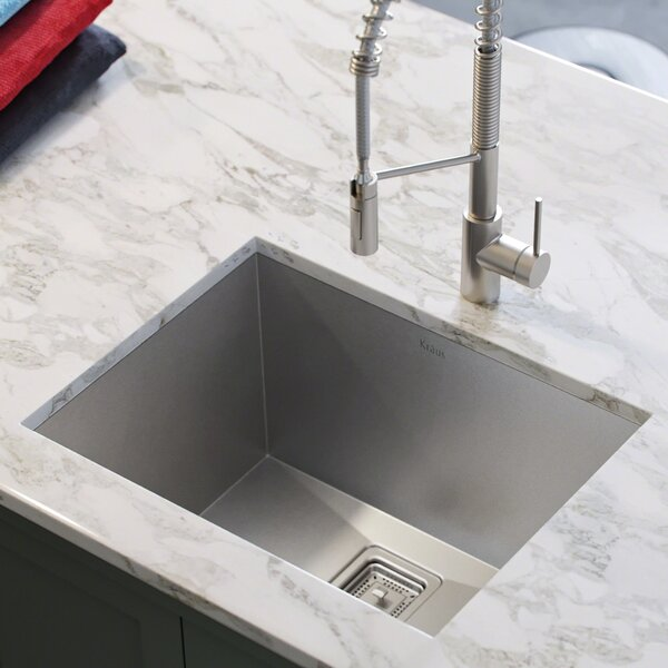 Pax™ 24 x 19 Undermount Kitchen Sink by Kraus