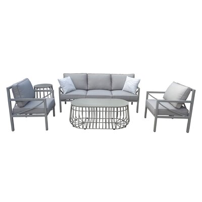 Brayden Studio Sofa Seating Group Cushions Seating Groups
