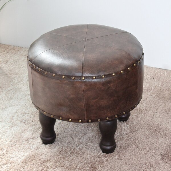 Stone Castle Ottoman by Astoria Grand